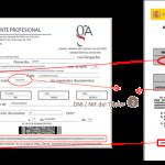 Verificación ONLINE del Código de seguridad del Justificante Profesional / Autorización Provisional de Circulación