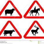 Animales incluidos en las señales verticales. (Abril 2017)