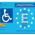 ¿Dónde puedo estacionar con una tarjeta para personas con discapacidad?