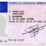 Códigos armonizados de los permisos de conducir en Europa.