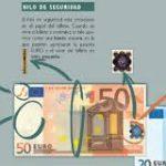 Medidas de seguridad en los billetes. Guía resumida del BDE
