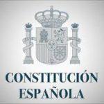 Constitución Española con índice en PDF.